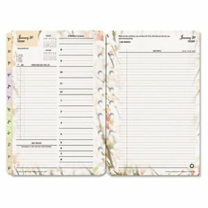 Franklincovey Blooms Dated Daily Planner Refill
