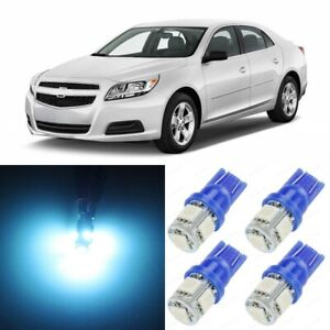 15 X Ice Blue Interior Led Lights Package For 2008 2013 Chevy Malibu Tool