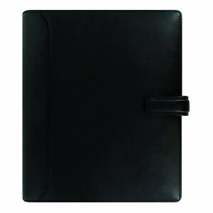 Filofax 2018 Nappa Leather Organizer A5 8 25 X 5 75 Black Planner With To Do