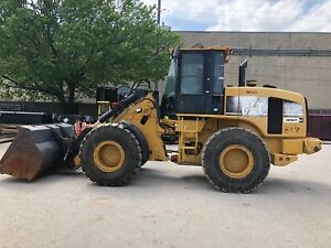 2007 Caterpillar 930g Wheel Loader Q c W bucket And Forks Aux Hyd 10 610 Hrs
