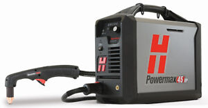 Hypertherm Powermax 45 Xp Plasma Cutter 20 Hand System With Cpc Port 088113