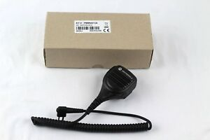 Motorola Oem Remote Windporting Speaker Microphone Rx jack 2 Pin Pmmn4013a
