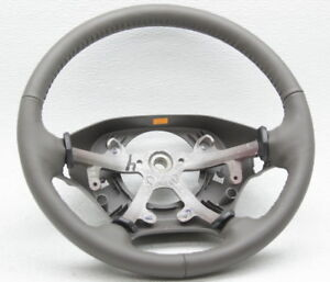 New Old Stock Oem Dodge Ram 1500 Steering Wheel 1nr571l8aa Taupe Leather Bare