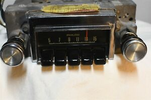1971 Philco Ford D1oa 18806 Vintage Car Audio Radio Old Original