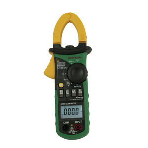 Mastech Ms2108a Auto Range Ac Dc Digital Clamp Multimeter Frequency Meter Tester