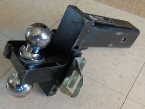 Action Accessories Receiver Hitch Adjustable Ball Mount 2 5
