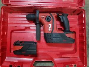 Hilti Te6 a36 Avr 36 volt Lithium ion 1 2 In Sds Plus Cordless Rotary Hammer