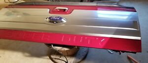 2008 2016 F250 Super Duty Platinum Tailgate With Step And Camera ruby Red