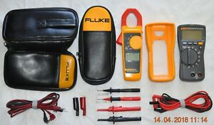 Fluke 116 323 Multimeter Clamp Meter Wextra Accessories tested new near Mint