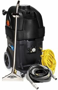 Powr flite Pfx1385max2 Max Hot Water Carpet Extractor Starter Pack 13 Gal Black
