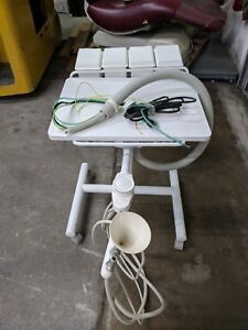 Dental Table Cart Portable Mobile Delivery Unit Air Water Dentist