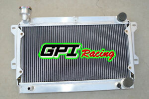 52 Mm Aluminum Radiator For Mazda R100 Familia Rotary 1000 1200 1300 68 73 Mt