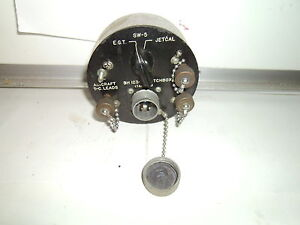 Aircraft Cabin Switch Box bh 123 3 i23 3 Used