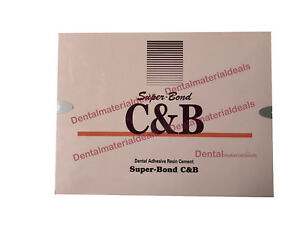 Sun Medical Super Bond C b Self Curing Dental Adhesive Resin Cement Dm