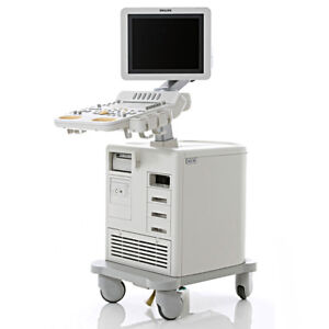 Philips Ultrasound Hd7 xe System Sonoct Xres Cvo Machine Cardiac S4 2 Probe