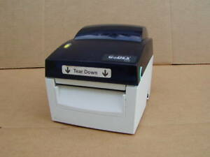 Godex Dt 4 Direct Thermal Printer With Cutter Used Free Shipping