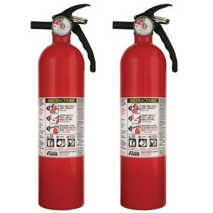 2 Pack Home Office Safety Emergency Disposable Recreational Fire Extinguisher