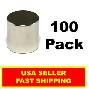 Neodymium Disc Magnet 1 2 Inch N52 Super Strong Rare Earth 100 Pack