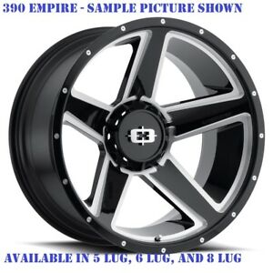 4 New 22 Wheels Rims For Gmc Sierra 2500 Hd Sle Slt 23073