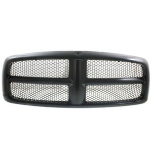 02 05 Ram Pickup Truck Front Grill Grille Assembly Black Ch1200287 5jf051spac