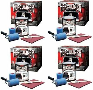 Herculiner Truck Bed Liner Kit 4 Gallons Complete Kits