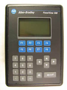 Allen Bradley Panelview 300 2711 k3a5l1 Interface Panel Very Good Condition