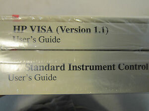 Hp I o Libraries Hp Visa version 1 1 User s Guide And Hp Standard Instrument