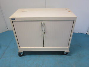Wright line 4 Drawer Metal Tool Box Cabinets Horizontal Sliding Doors Reduced