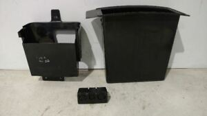 Oem 2000 2002 Chevy S10 blazer jimmy Front Console Insert Pieces Black