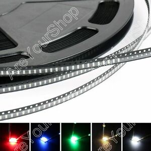 3014 Led Smd Smt Red Green Blue Warm White White 5colours Light Emitting Diodes