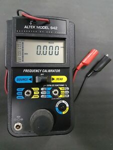 Altek Model 942 Frequency Calibrator With Case