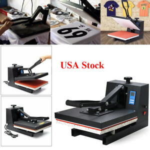 15x15 Digital Heat Press Machine Transfer Sublimation Business T shirt Printing