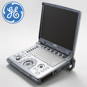 Ge Logiq E Portable Ultrasound System Machine With 12l rs Linear Probe