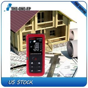 328ft Mini Ua 100m Hand held Laser Distance Meter Measuring Range For Ut395c