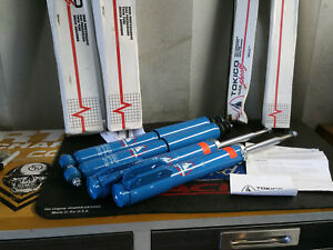 Tokico Hp Blue Shocks 94 04 Ford Mustang Front Rear Set Made In Japan Nos