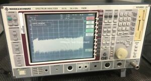 Rohde Schwarz Fsem30 26 5 Ghz Spectrum Analyzer Opt Fse b7 6 Mo Warranty