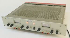 Hp Agilent 6255a Dual Dc Power Supply 0 40v 0 1 5a