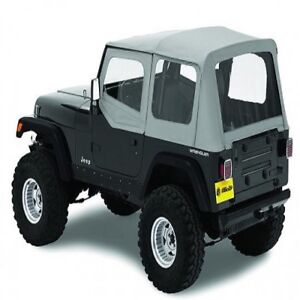 Bestop Replace A Top Charcoal Soft Top For 1988 1995 Jeep Wrangler