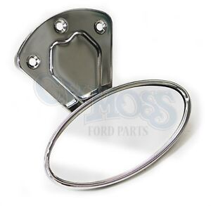 Ford Model A Street Rod Rear View Mirror Closed Car Stainless Steel 1928 31