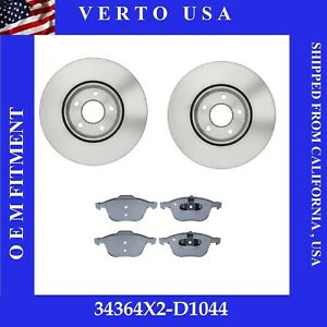 Front Brake Rotors Pads For Ford Escape 1 5l 1 6l Fwd 2 5l 2013 2014 To 2018