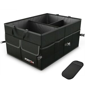 Trunk Organizer Case Car Vehicle Cargo Box Large Storage For Vehicle Foldable