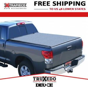 Truxedo Deuce Tonneau Cover 2in1 Fit 07 18 Toyota Tundra 5 6 Bed W Track