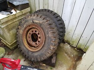 Industrial Traction 8 25 15 Forklift Tire