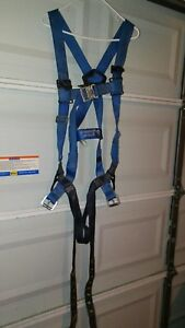 2x Ultra safe Full Body Safety Harness Xxl Med lg And 1 Safety Rope