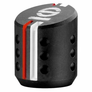 Sparco Settanta R Shift Knob Black With Orange And White Accents 03737ns