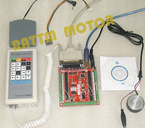 6 Axis Lpt Mach3 Stepper Motor Driver Breakout Board Cnc Controller Card cable