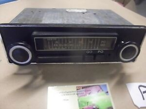 Vintage Blaupunkt Radio L M Wave 70 80 S P 1300 Citroen Parts In Shop