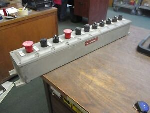 Adalet Explosion Proof Control Enclosure Xifc 033003 N4 Type 4 11 position Used