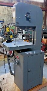 Excellent Rockwell Delta 20 Metal Cutting Vertical Bandsaw 28 350 Pick Up Only
