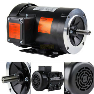3 Hp Electric Motor 3 Phase 56hc Frame 3600 Rpm Tefc 208 230 460 Volt New